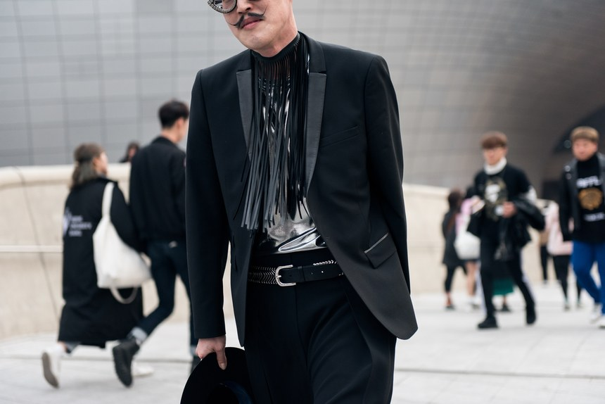 cozyvibe seoul fashion week men