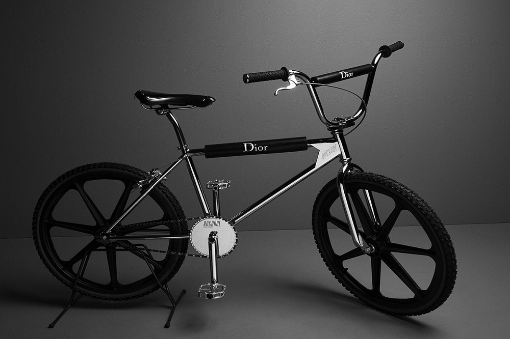 cozy vibe design dior bicycle