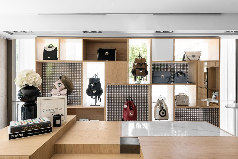 Christina Malle Bags Showroom
